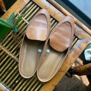 Cut & Comfortable Loafer Mules